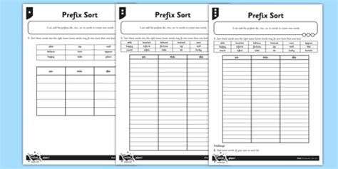 dis mis un differentiated worksheet activity sheet pack