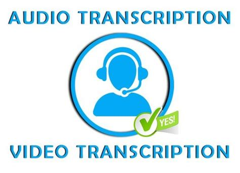 Transcribe upto 1 Hour of audio or video in English for £ ...