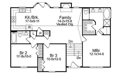floor plans for split level homes cozy split level house plan 2298sl architectural