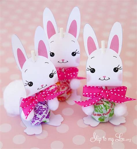 bunny sucker holders skip   lou