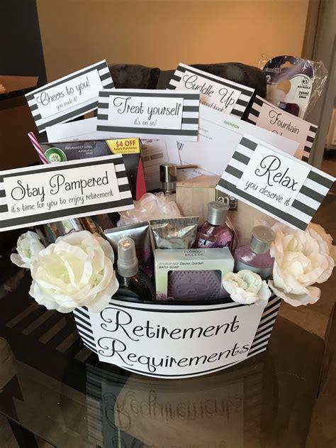 retirement requirements basket gift baskets retirement