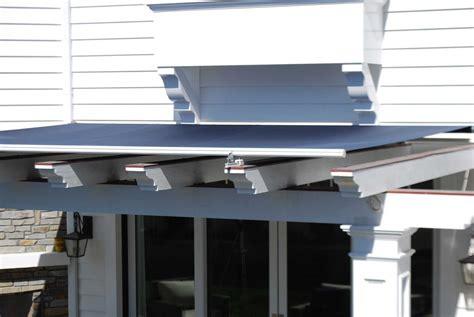 retractable skylight awnings sunbrella fabrics  awning company