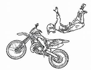 dirt bike colouring pages to print at getcoloringscom With honda 70 trail bike