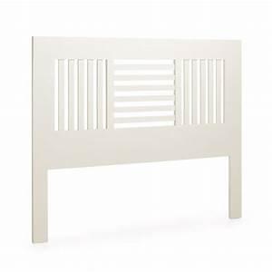 Paravent Tete De Lit : t te de lit blanche barreaux sydney chambre classique ~ Preciouscoupons.com Idées de Décoration