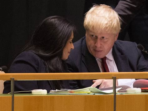 Priti Patel: Disgraced former minister who previously ...