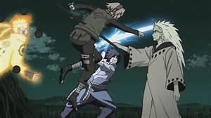 Naruto Sasuke Sakura vs Madara by weissdrum on DeviantArt