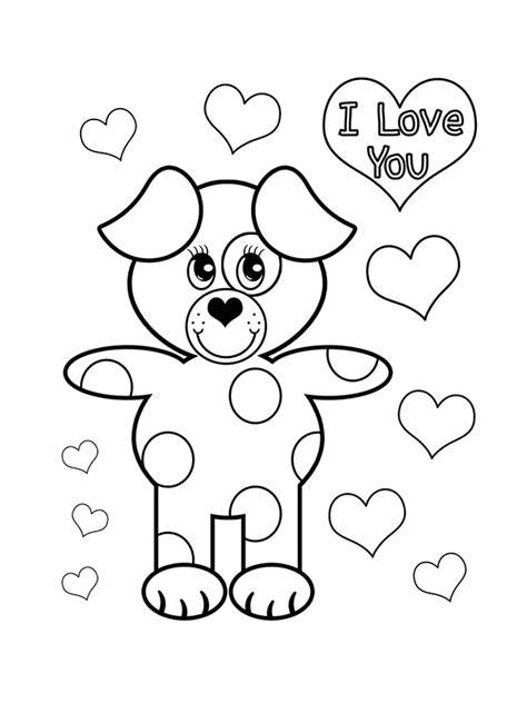 Kleurplaat Moederdag Teddybeer by 18 Mooie Liefdes Kleurplaten