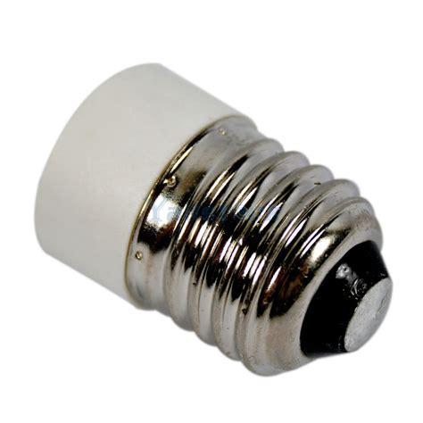 2pcs e27 to e14 base led light l bulb adapter converter