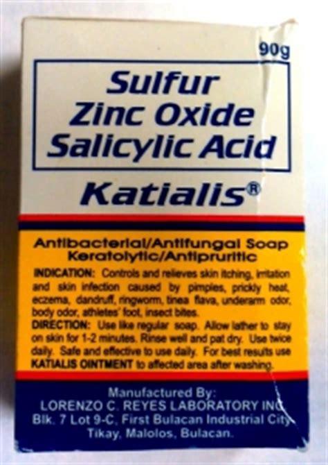 katialis antibacterial antifungal soap review