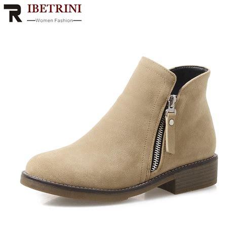 Aliexpress Buy Ribetrini Black New Fashion Low Heels