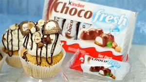 Cupcakes Mit Füllung : kinder choco fresh cupcakes mit f llung youtube ~ Eleganceandgraceweddings.com Haus und Dekorationen