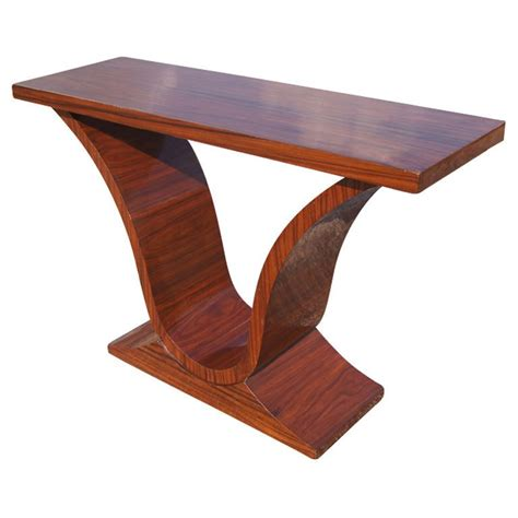 deco rosewood console sofa table for sale at 1stdibs