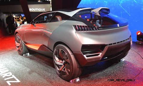 peugeot concept 2014 peugeot quartz and dkr prototype top paris concept