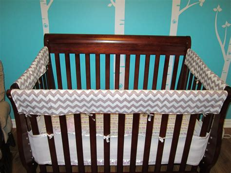 crib side rail covers teething guards crib rail covers protectors front side 3