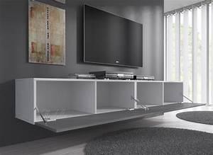 Tv Bank 200 Cm : tv meubel flame grijs wit 200 cm meubella ~ Bigdaddyawards.com Haus und Dekorationen