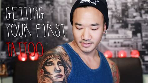 Getting Your First Tattoo  Survival Guide Youtube
