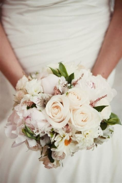 Picture Of Stunning Pastel Wedding Bouquets