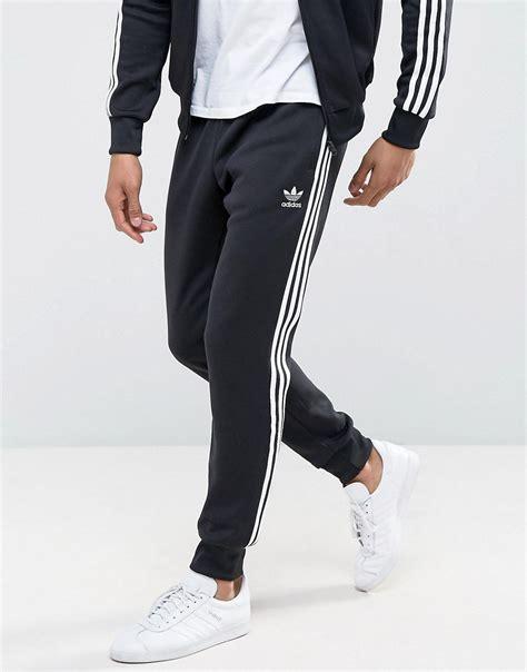 cuffed sweatpants for adidas originals adidas originals superstar cuffed track