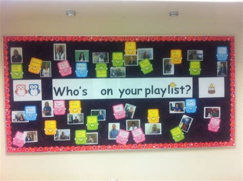 Fun Music Bulletin Board For Back To School. I Take A Pic