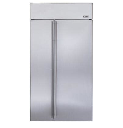 ge monogram zissnhss   monogram series counter depth side  side refrigerator