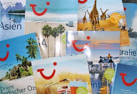Touristik Aktuell  Tui Deutschland Hält An Katalogen Fest