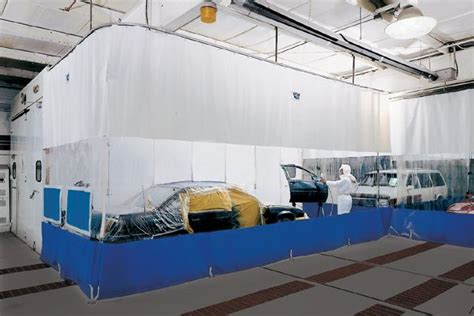 body shop curtains curtain walls auto body curtains