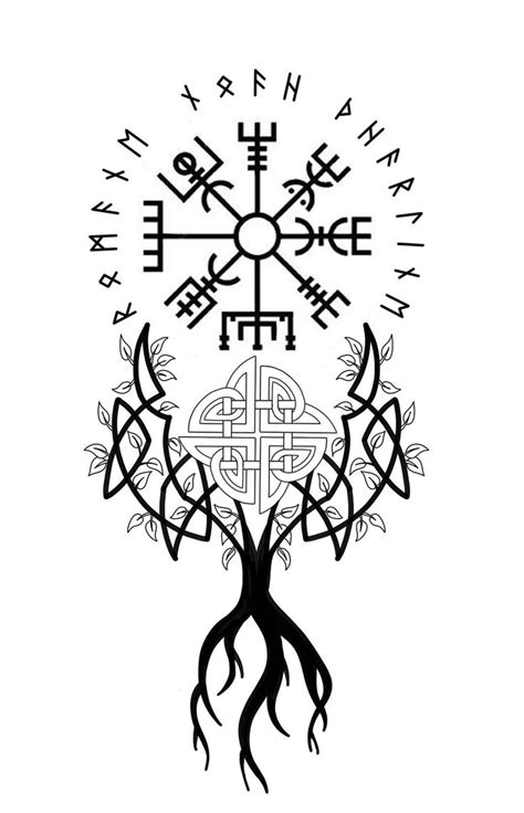Hand tatoos – Norse Mythology-Vikings-Tattoo
