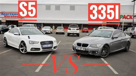 Audi S5 Vs Bmw M3 by Bmw 335i Vs Audi S5 V6t