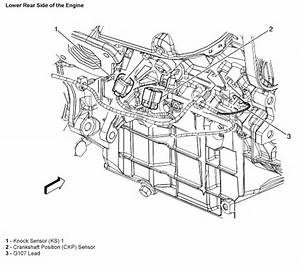 Where Are The Crankshaft And Chamshaft Sensors Located On