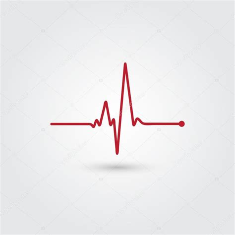 Heartbeat vector illustration — Stock Vector © merion ...