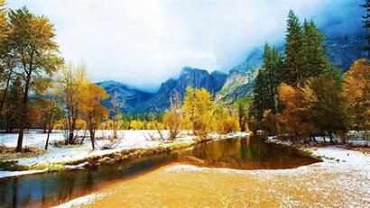 Late Autumn Mountains Wallpapers Desktop Background Winter