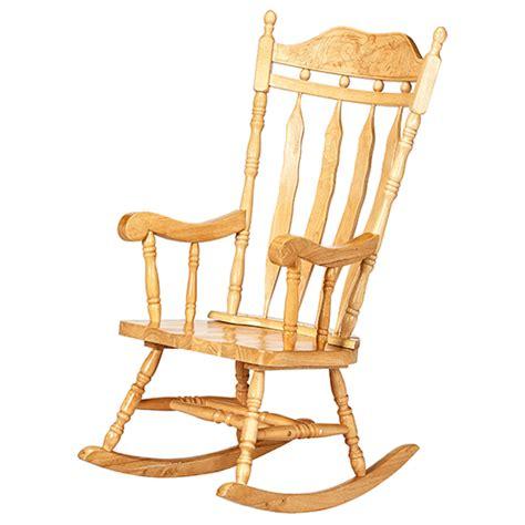 chaise bercante en bois chaise berçante liquida meubles