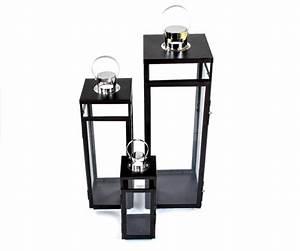 Laterne Metall Schwarz : metall laterne 3er set schwarz windlicht gartenlaterne gartenlampe glaslaterne ebay ~ Whattoseeinmadrid.com Haus und Dekorationen