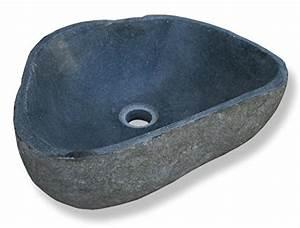 Garten Waschbecken Stein : lioliving waschbecken stone aus stein findling ~ Lizthompson.info Haus und Dekorationen