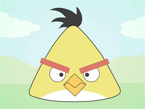 Angry Bid by How To Draw An Angry Bird Emotions 15 Steps With Pictures