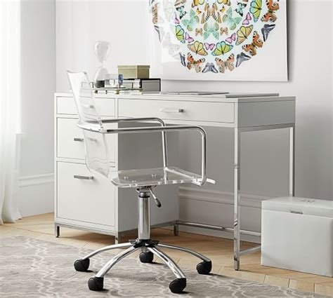 Pottery Barn Desks For Small Spaces by Small Desk Pottery Barn