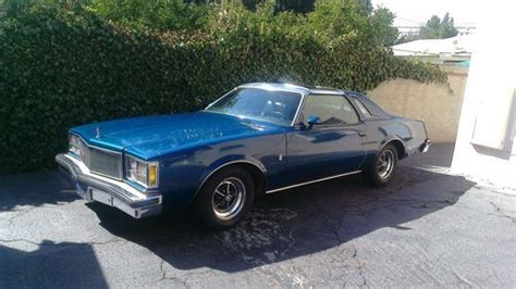 1976 Buick Regal For Sale by Purchase New 1976 Buick Regal Sr Coupe 2 Door 5 7l In