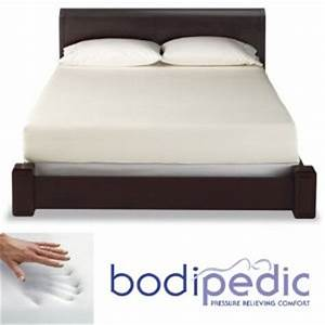 bodipedic essentials 8 inch king size memory foam mattress With bodipedic memory foam mattress