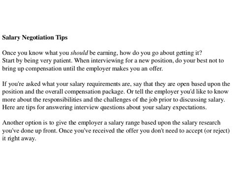 how to answer questions what are your salary