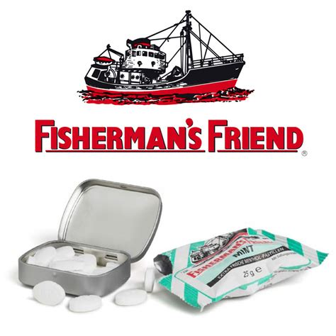 promotional fishermans friend mints  personalised tin