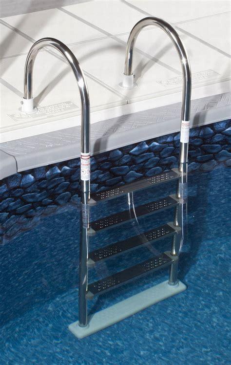 ground super stainless steel  pool ladder ne