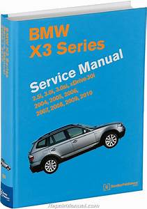 Bmw X3 M54 N52 Engines Printed Service Manual 2004
