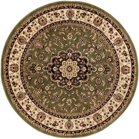 medallion area rug well woven barclay medallion kashan green 7 ft 10 in x 7