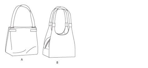 Butterick 5775 Bags