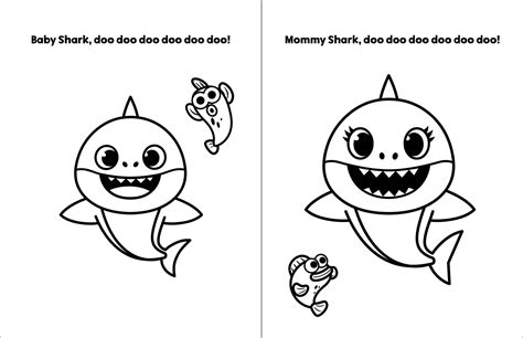 The 21 Best Ideas for Pinkfong Baby Shark Coloring Pages