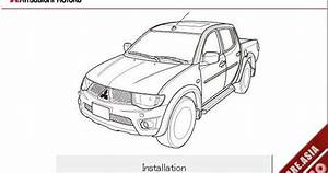 Mitsubishi Ebook Soft   Workshop Manual  Mitsubishi L200