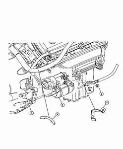 Dodge Charger Bracket  Wiring Harness