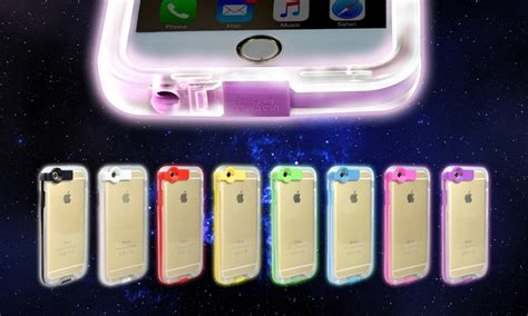 light up iphone charger light up charger for iphone groupon goods