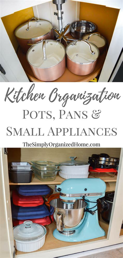 organizing pots and pans in a small kitchen kitchen organization organizing pots pans small 9868