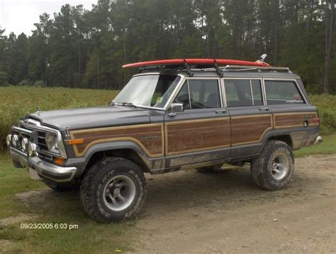 jeep wagoneer lifted jameri 1988 jeep grand wagoneer specs photos